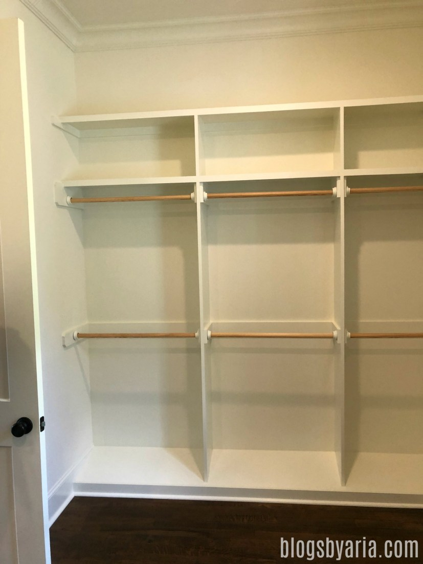 master walk-in closet dreams
