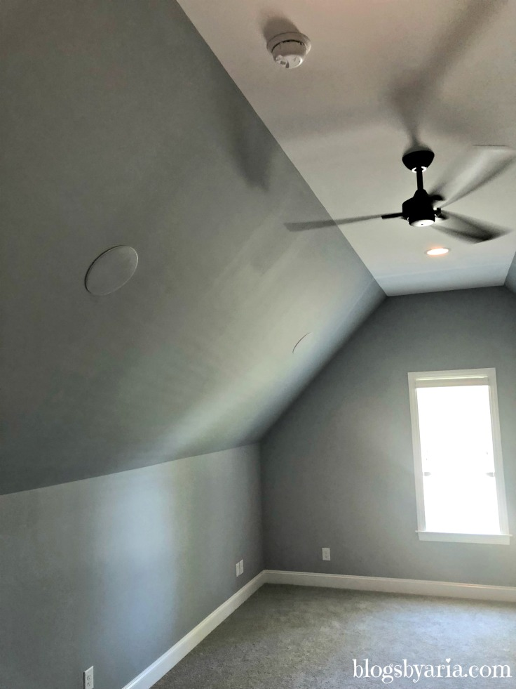 bonus room with surround sound