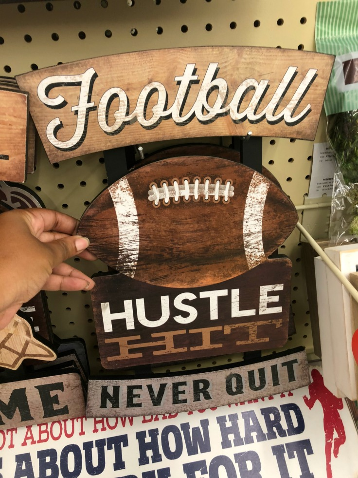 Hustle Hit Never Quit Wood Wall art