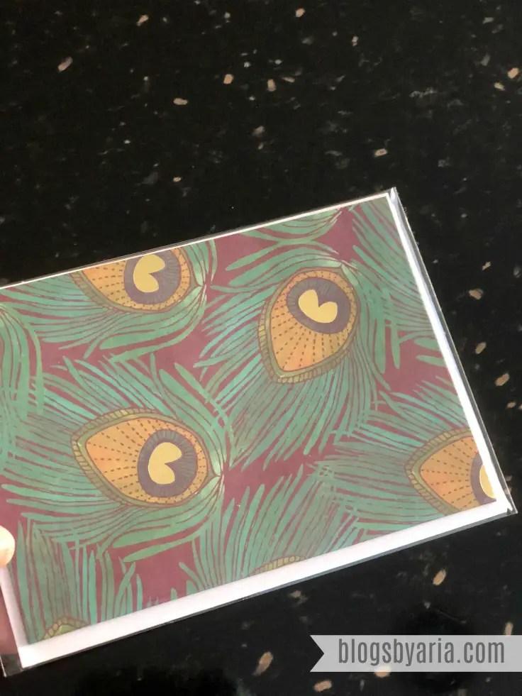 Erin Condren Fall Seasonal Surprise Box notecard
