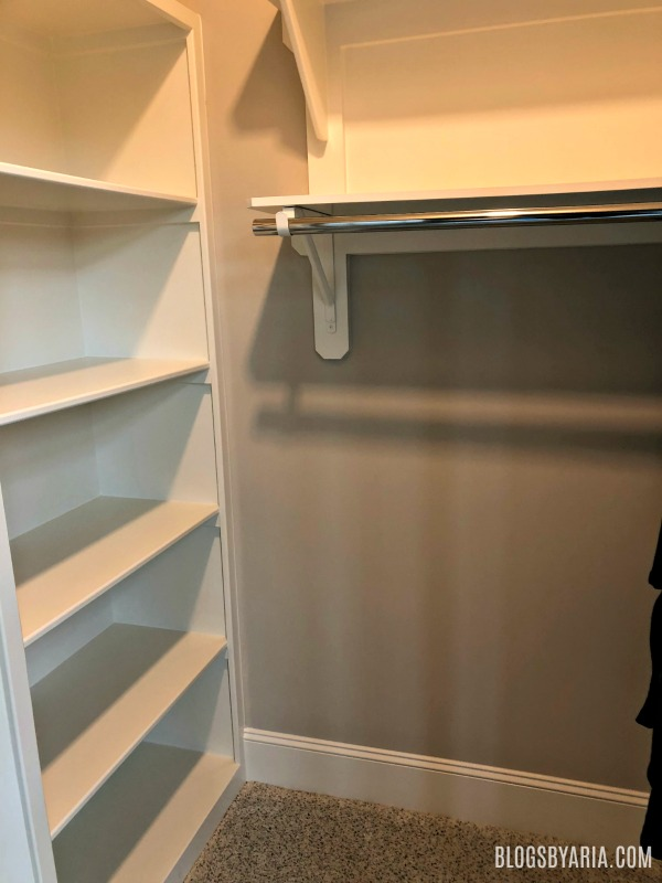 kids walk-in closet