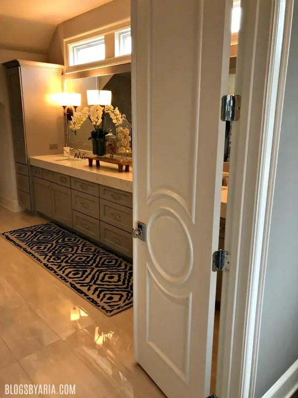 master bathroom door details