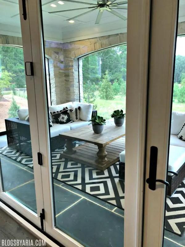 nano glass doors open fully to have true indoor/outdoor living