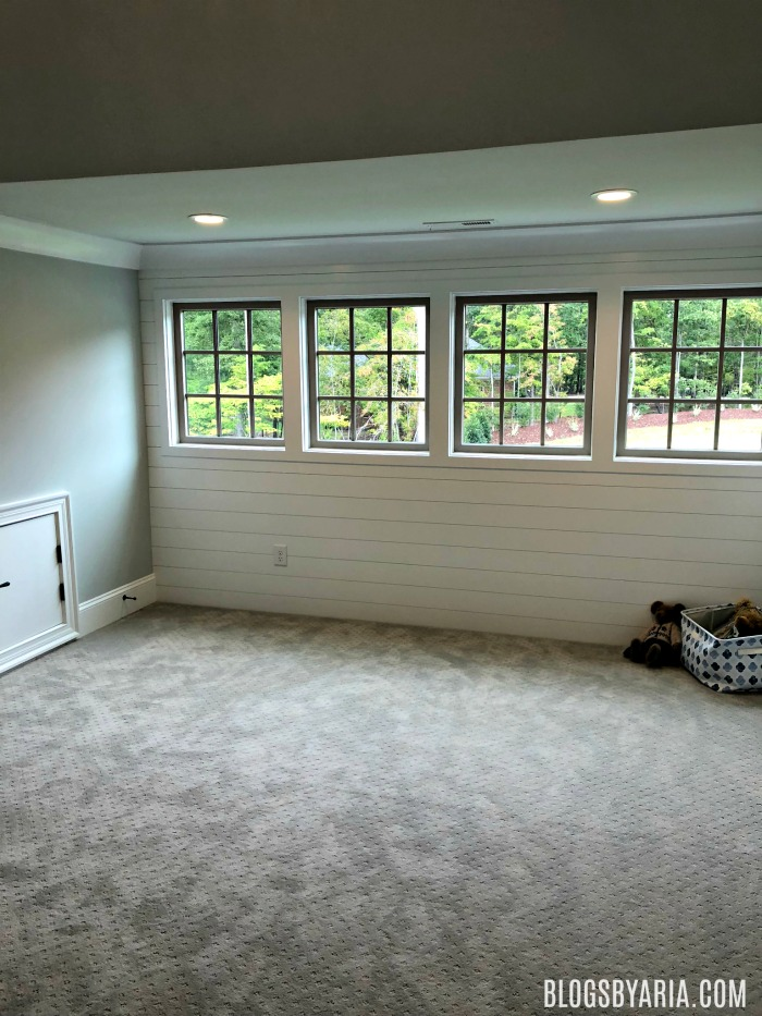 perfect space for a playroom