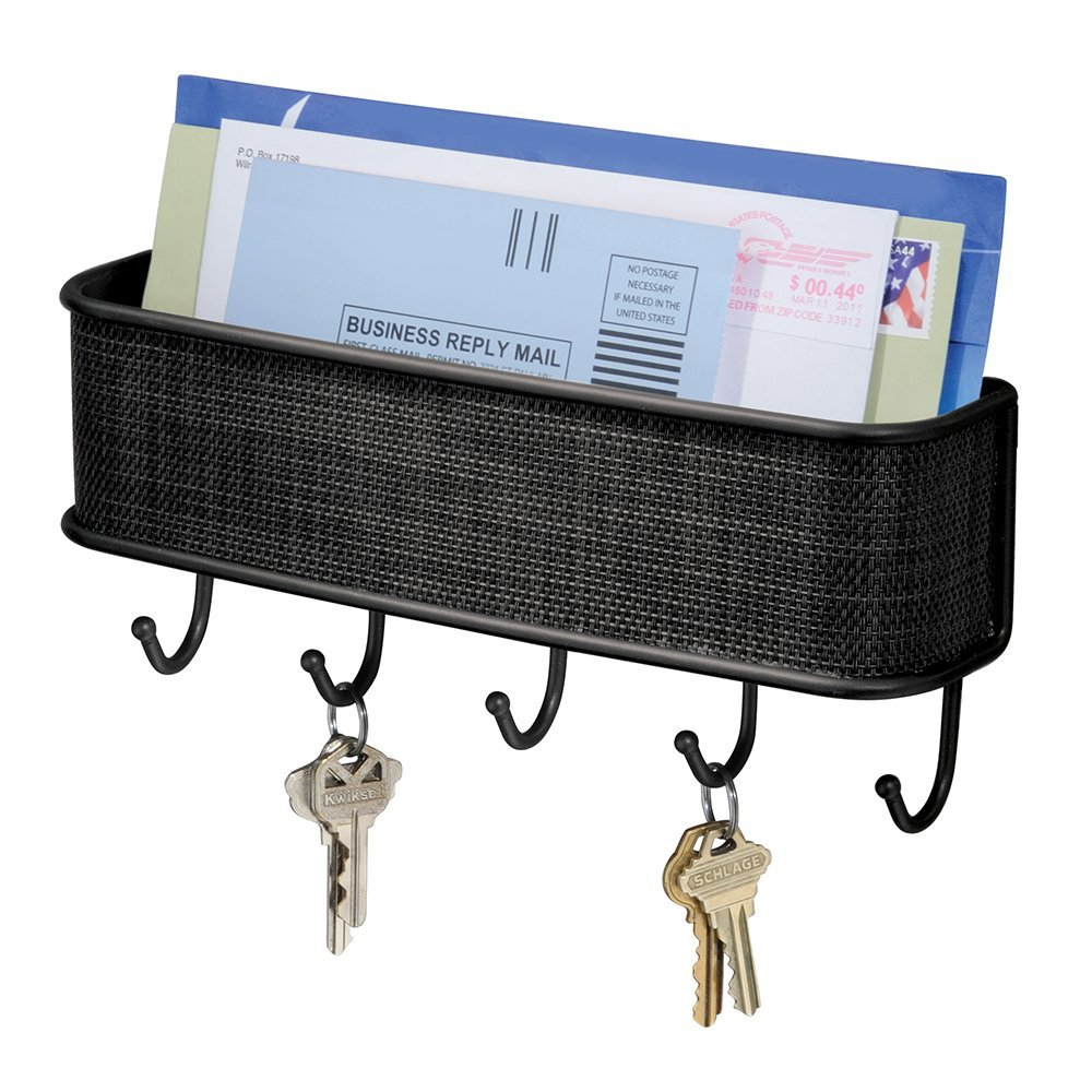 Mail holder and key rack