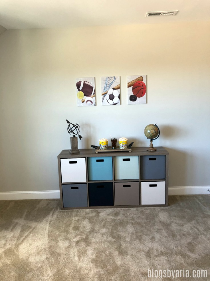 boys decor and organization