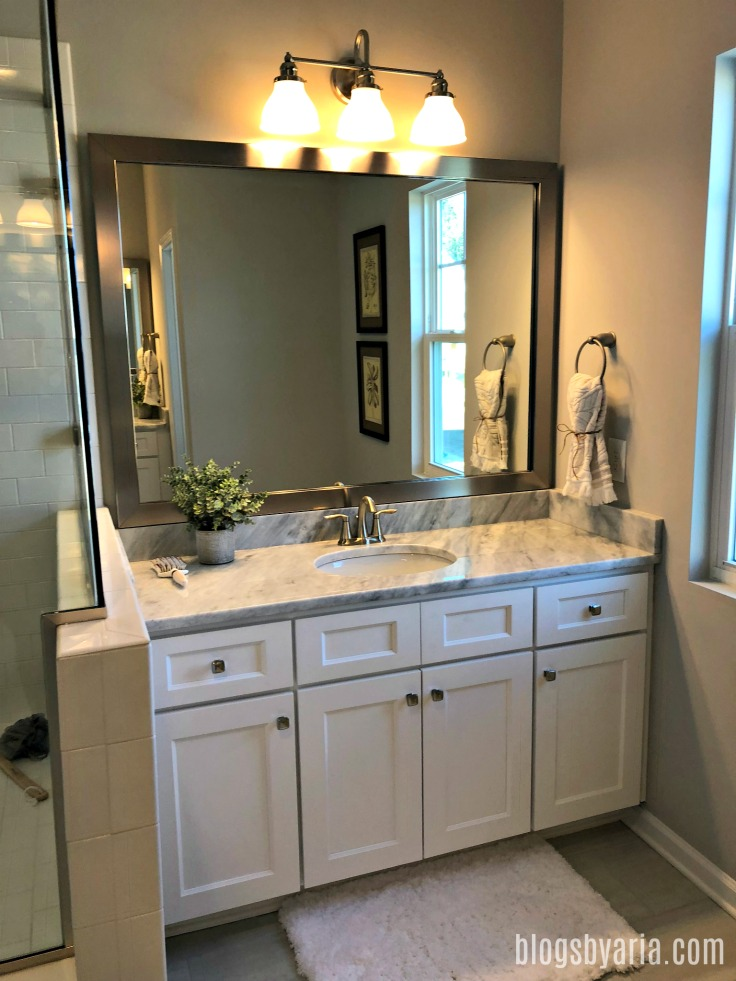 his and hers master bathroom sinks