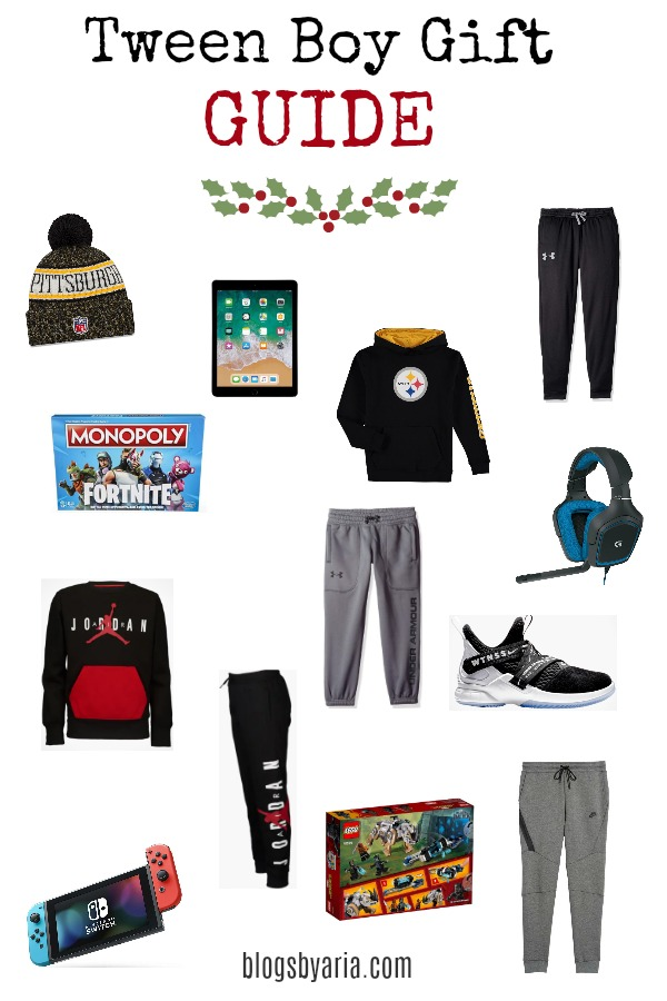 I'm sharing the top Tween Boy Gift Ideas for your boys age 10-13, I'm taking the guess work out of shopping for this interesting age.