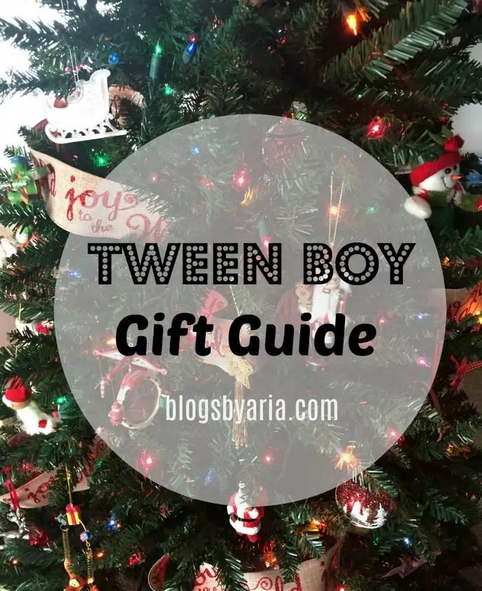 Tween Boy Gift Guide
