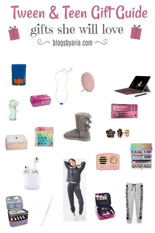 Shopping for tweens and teen girls can be hard but not with my Teen and Tween Girl Gift Guide!