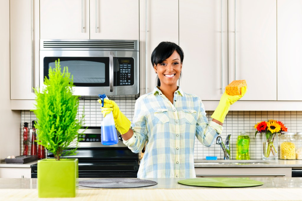 Cleaning can make you happy even if it doesn't come naturally to you -- trust me I know!