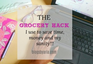 The Grocery Hack I use to Save Time, Money and My Sanity!!!