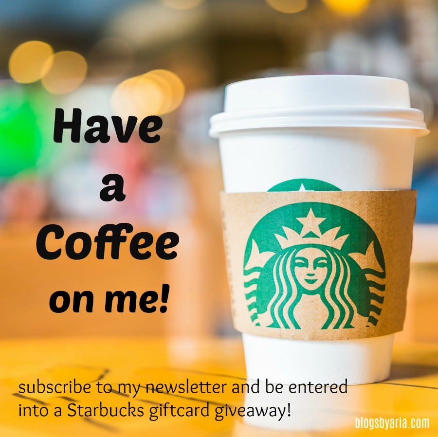 Have a coffee on me! #starbucks #giveaway