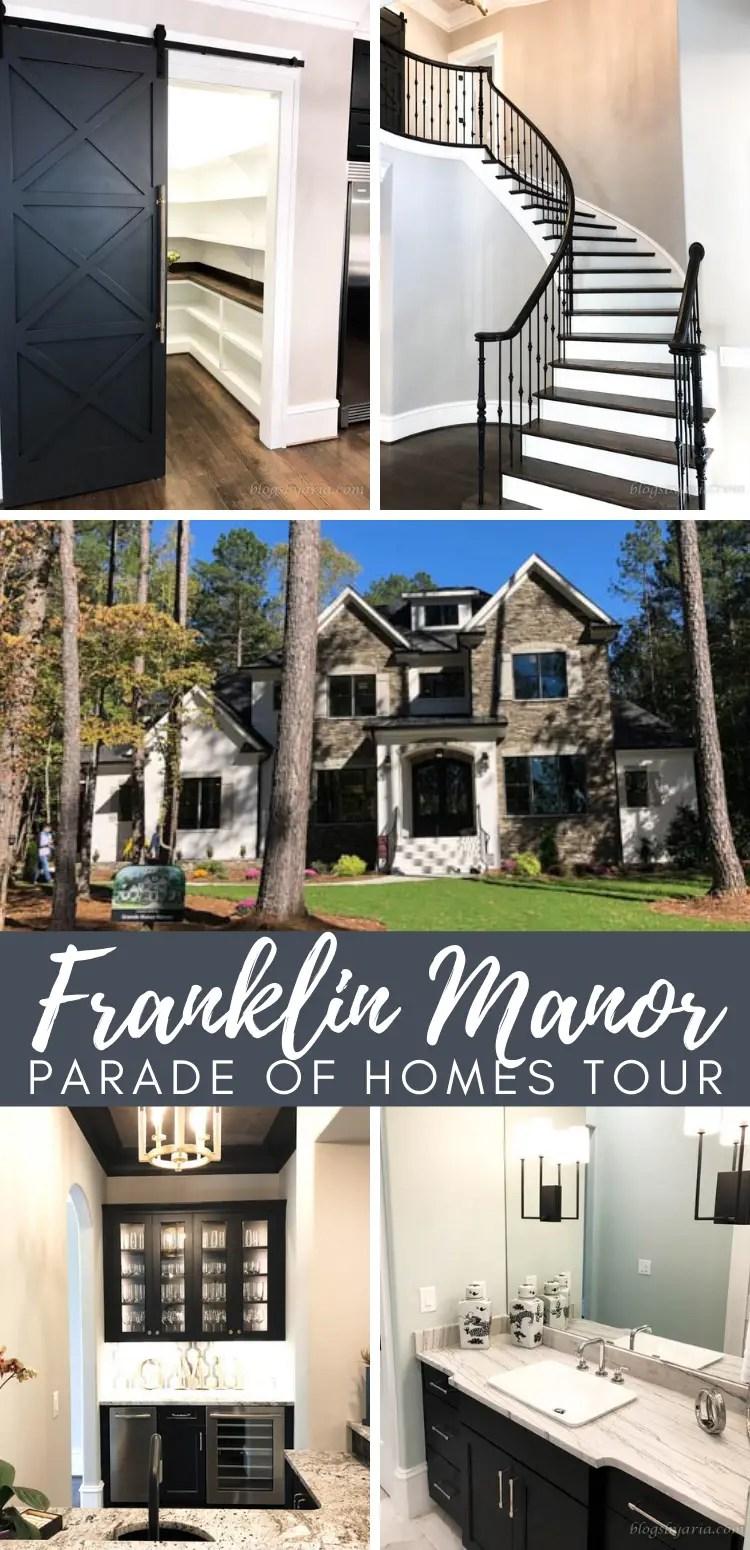 Franklin Manor Parade of Homes Tour
