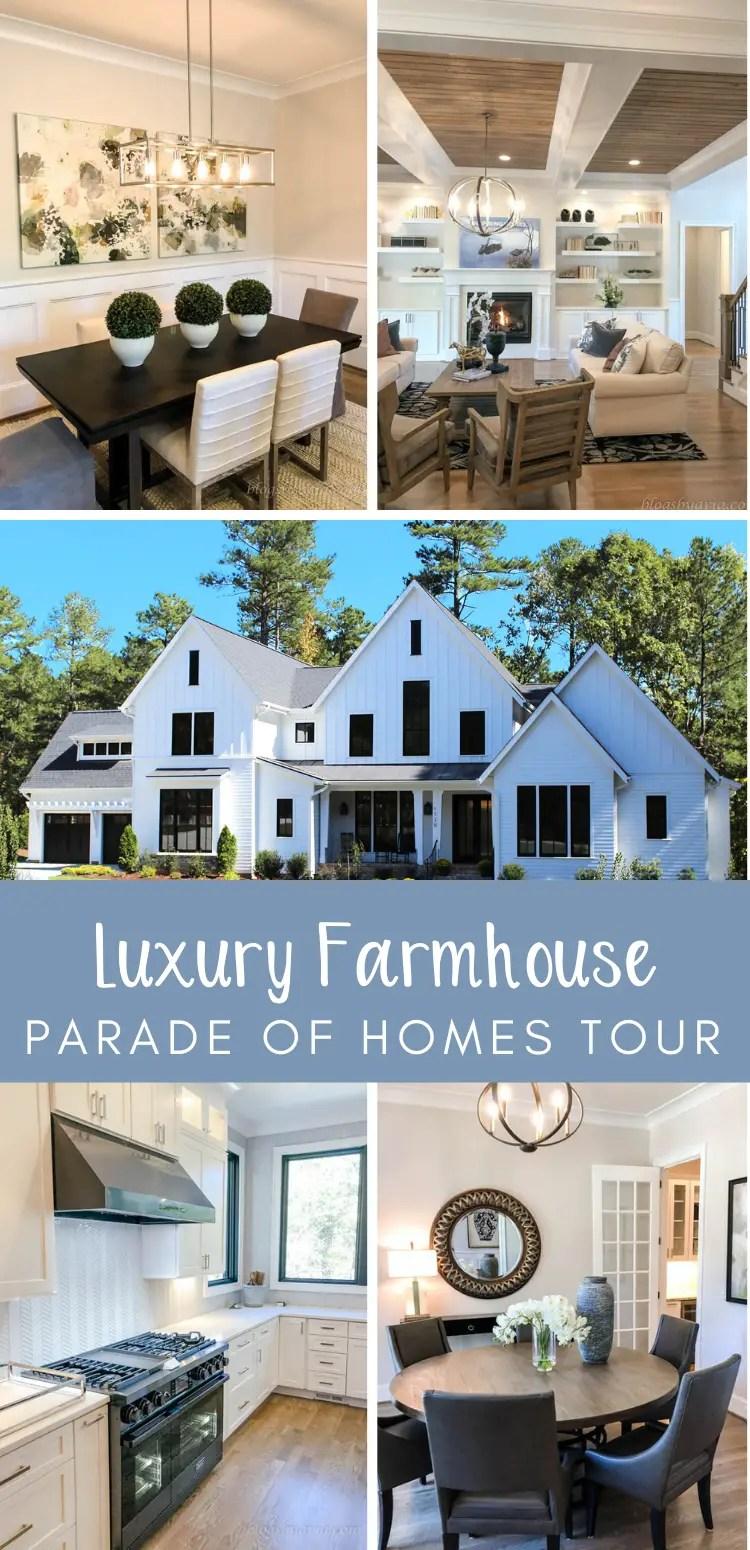 luxury farmhouse parade of homes tour