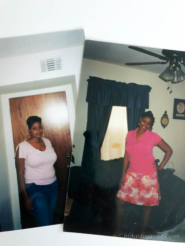 before and after losing weight with Atkins diet