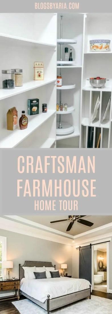 Craftsman Farmhouse Home Tour