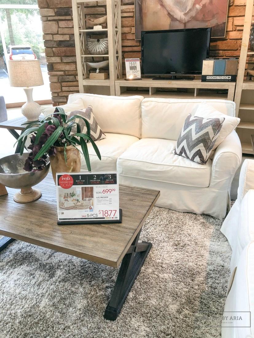 Cindy Crawford Home Beachside Sofa