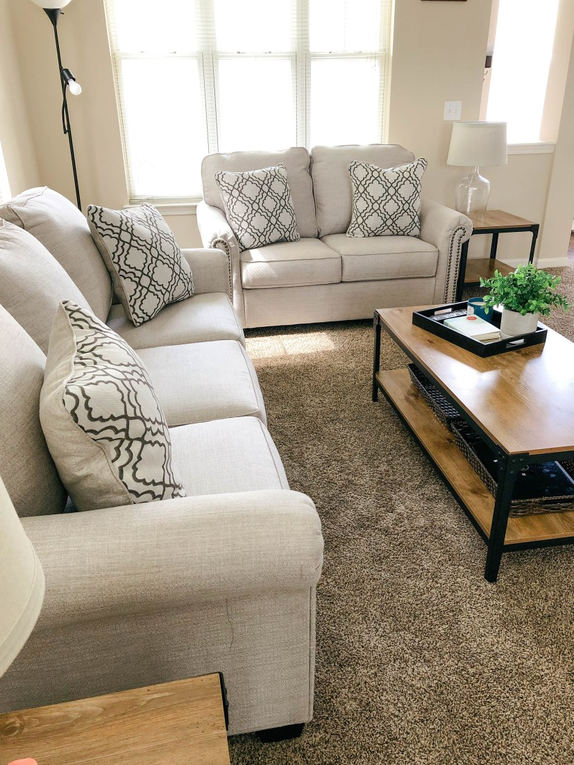 Ashley Furniture Farouh Sofa and Loveseat review