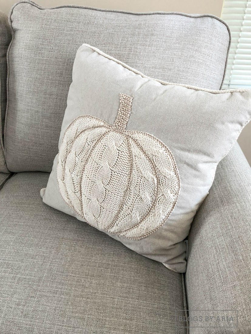 Sweater Pumpkin Pillow