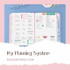 My Planning System