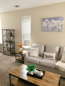 Fall Home Tour | Family Room