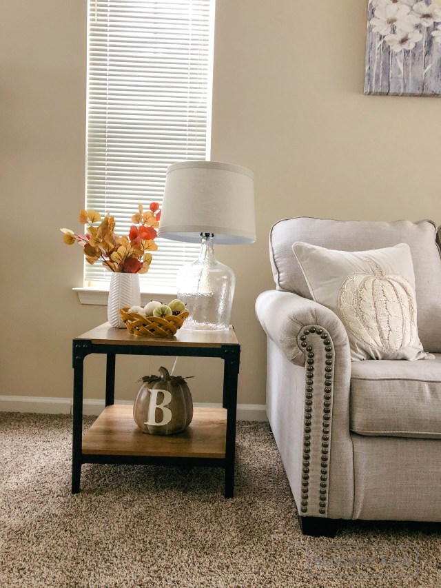 how to decorate for fall on a tight budget