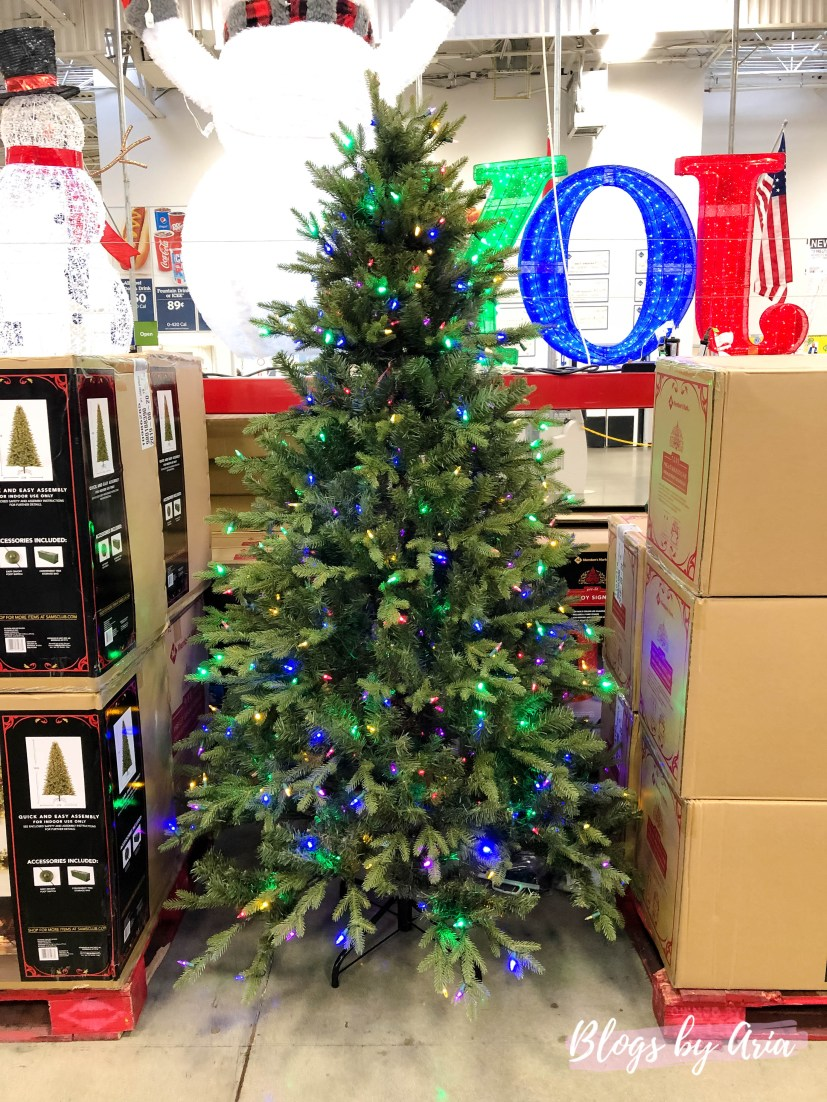 Majestic Fir Christmas Tree at Sam's Club