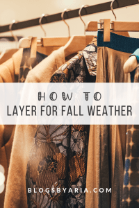 Layering Pieces for Fall