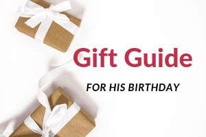 gift guide for his birthday