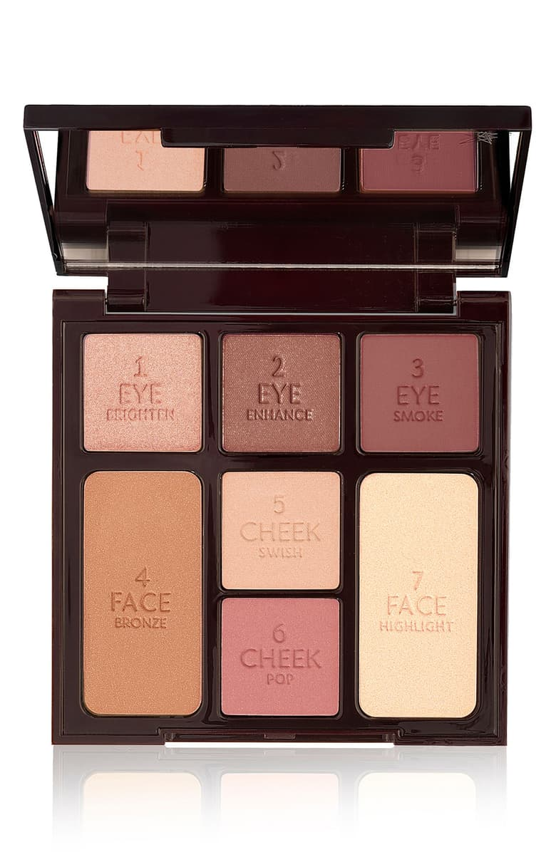 Charlotte Tillbury Instant Look in a Palette Gorgeous Glow Complete Face Palette