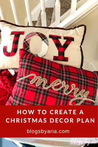 Christmas Decor Plans and Birthday Weekend