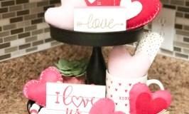 Valentine's Tiered Tray