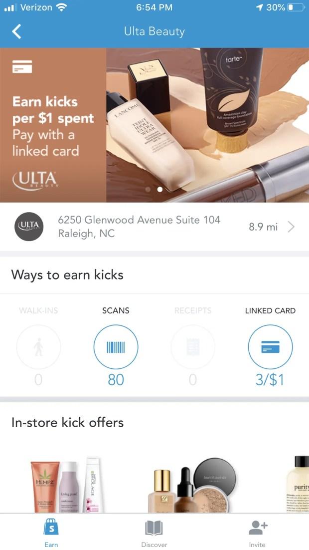 Shopkick Savings App