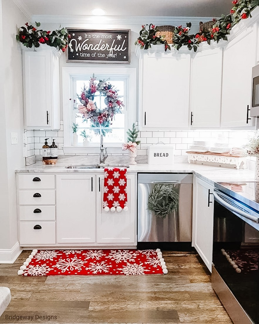 holiday kitchen decorating ideas