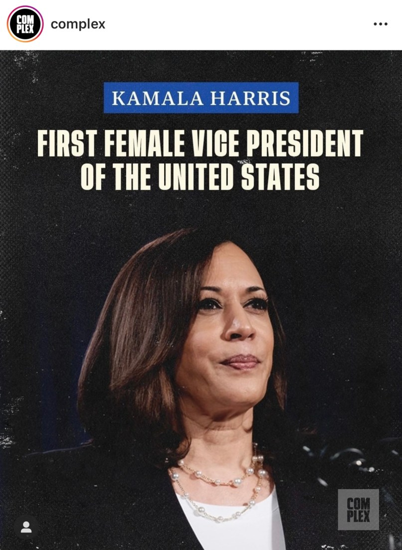 First Female Vice President of the United States