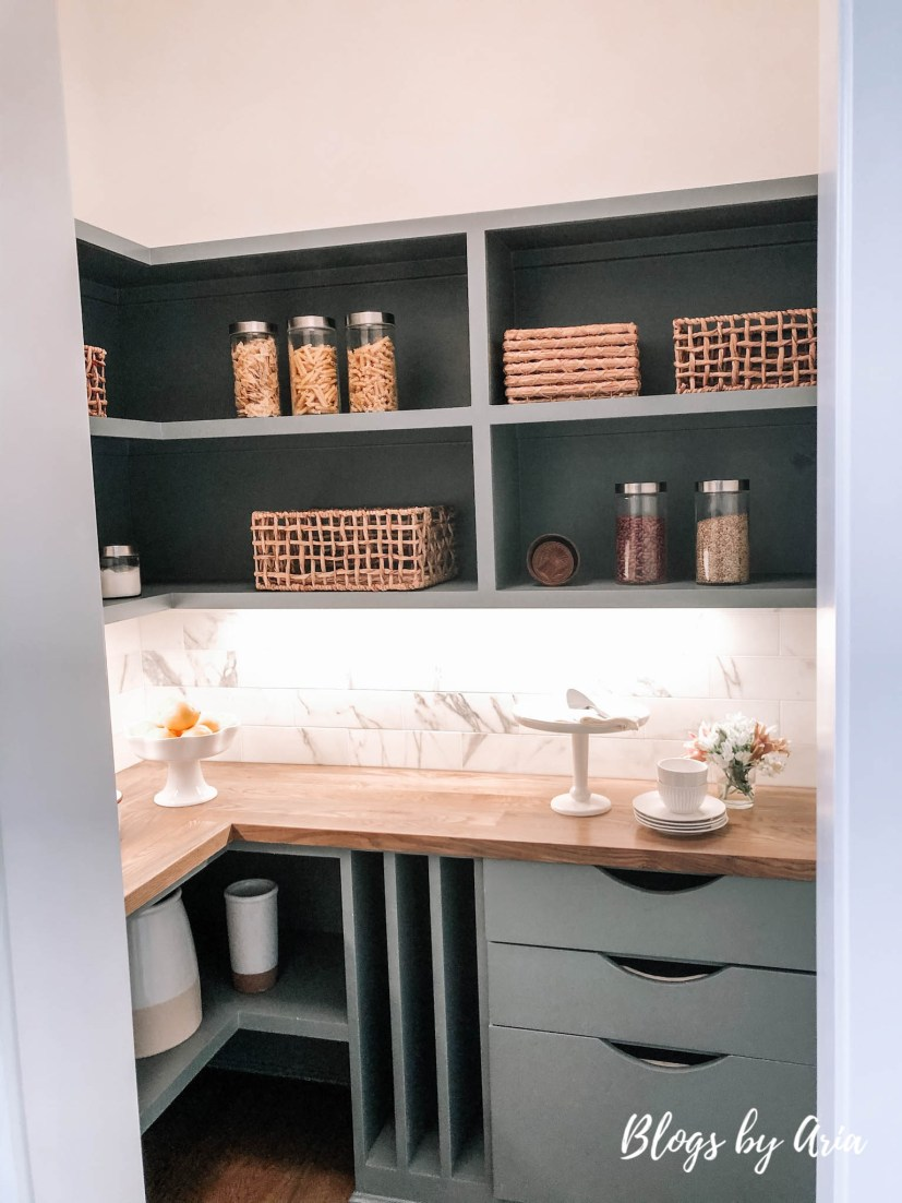 walk in pantry design and storage ideas