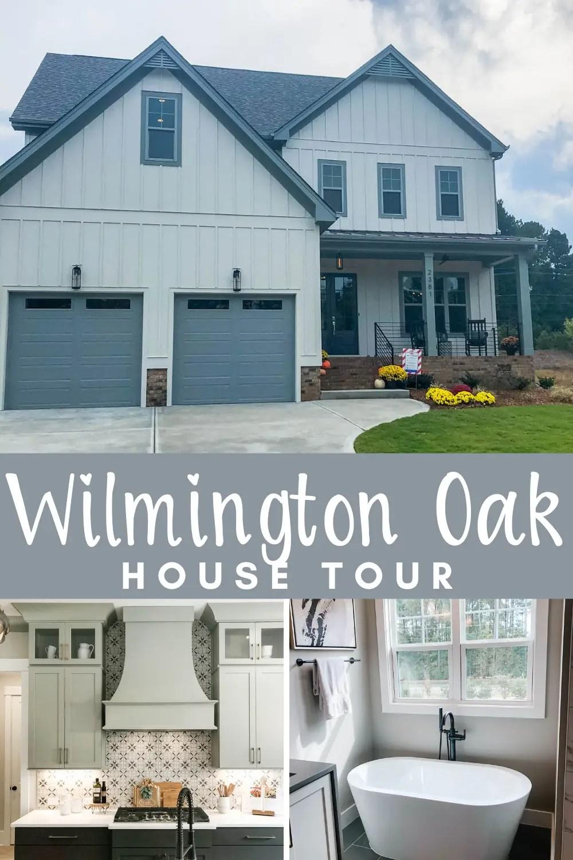Wilmington Oaks Modern Farmhouse home tour