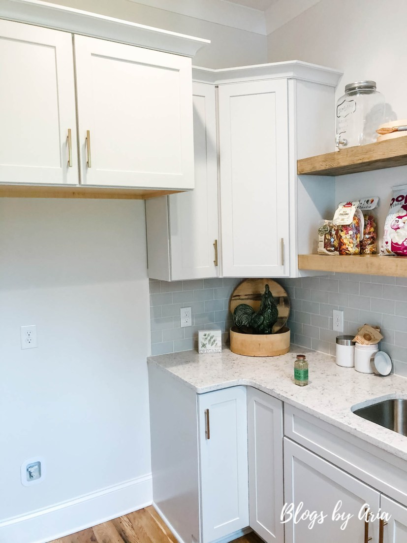 walk in scullery walk in pantry with open shelving
