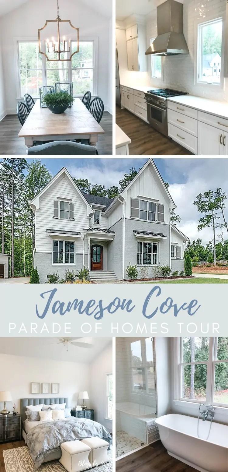 Jameson Cove parade of homes