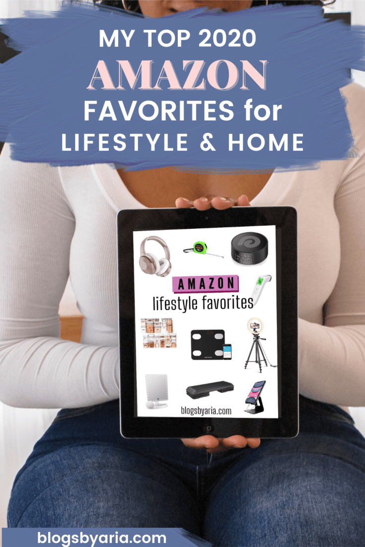 amazon favorites for 2020 lifestyle and home decor
