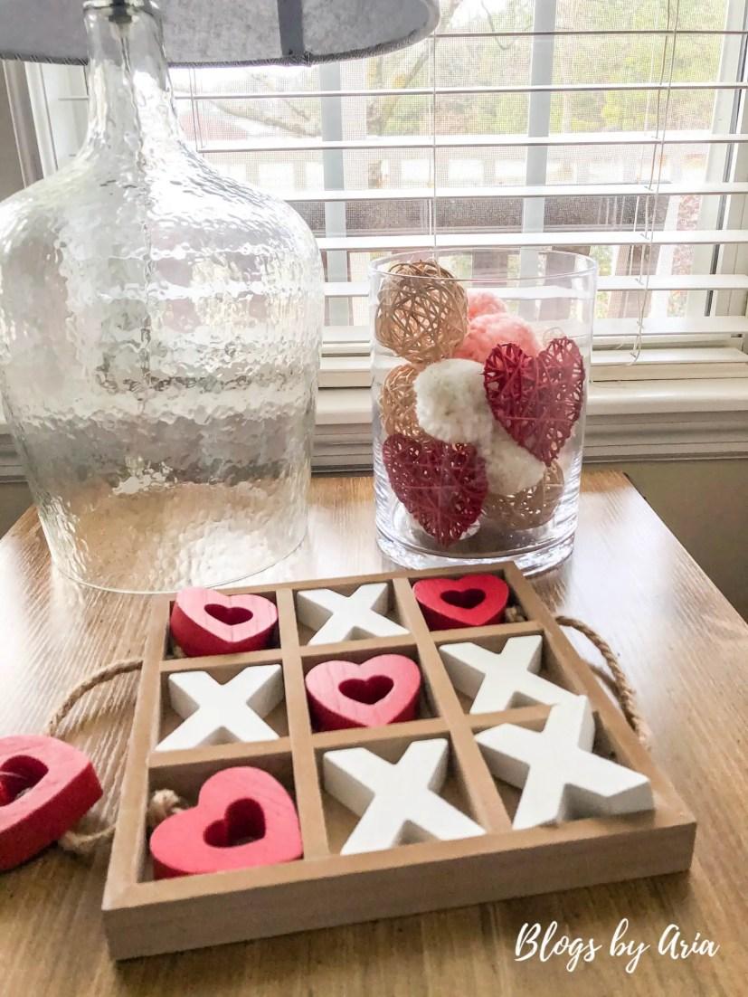 valentines tic tac toe game