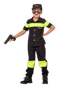 politie jongen