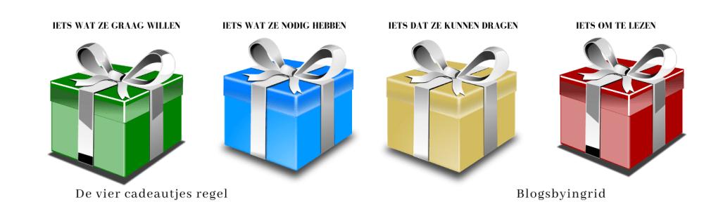 vier cadeautjes regel