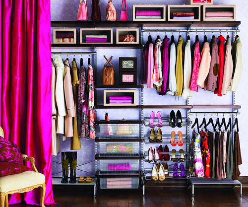 Good (Enough) Idea File. Cleaning, Home Decor. - wardrobe closet, clothing, accessories, organized