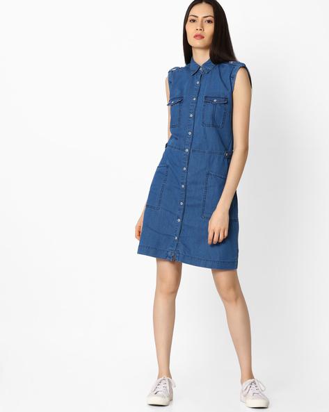denim dress2