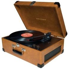 Antique Portable Record Player