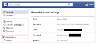 How do you Turn Off Email Notifications On Facebook
