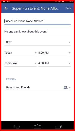 How To Create A Private Event On Facebook 2020 - Personal Facebook Event