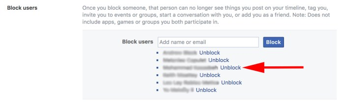 Steps To Unblock Someone On Facebook and Messenger